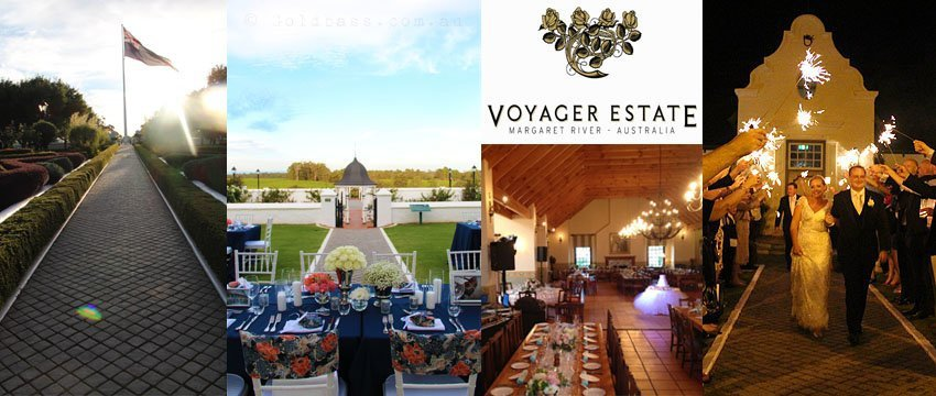 Wedding at Voyager Estate in Margaret River