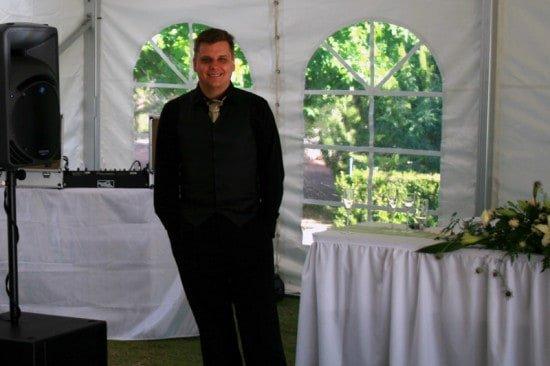Adrian at Wedding