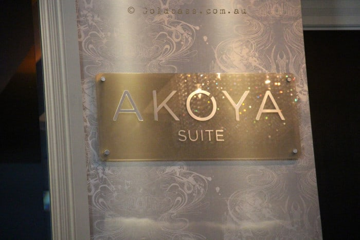 Entrance to the Akoya Suite at Hillarys Breakwater Tavern