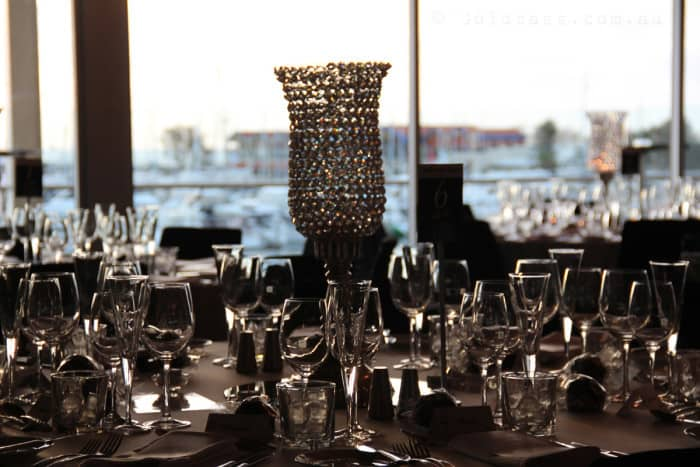 Breakwater wedding reception
