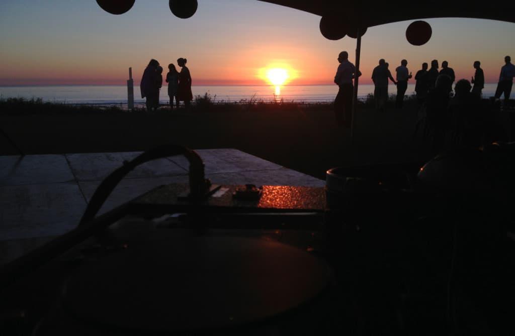 Broome Sunset Dance Floor
