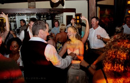 Cable Beach Club Restaurant Wedding