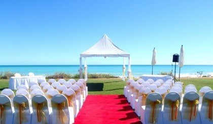Cable Beach Club Wedding