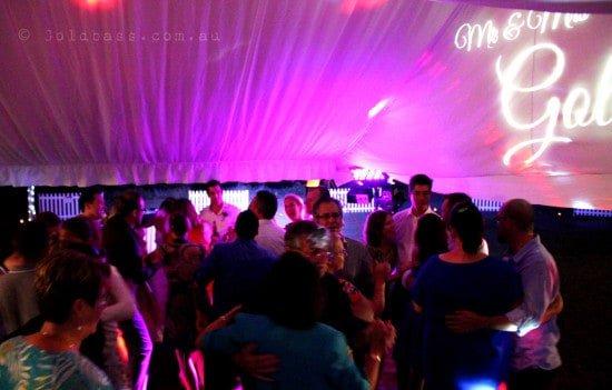 Dance floor dancing at Mr & Mrs Golding's wedding