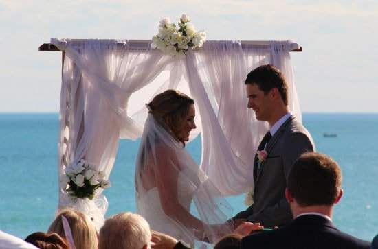 Cable Beach Wedding Ceremony