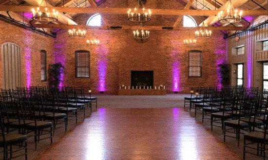 Wedding Ceremony Uplighting