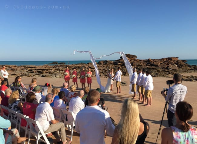 Entrance Point Wedding Ceremony