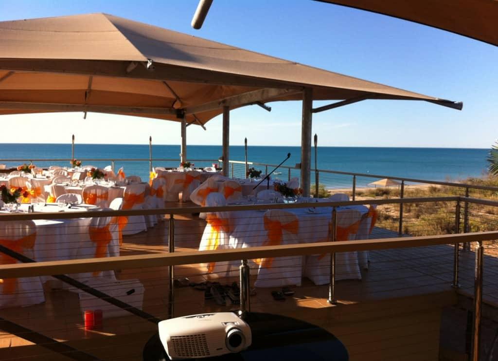 Frances and Dave Wedding Eco Beach