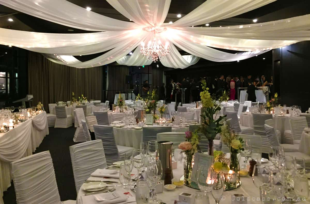 Downstairs Reception Venue At Frasers