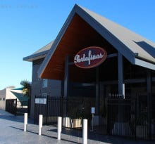 Photo of the entrance of Portofinos in Mindarie