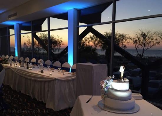 Hillarys Yacht Club Wedding-lighting