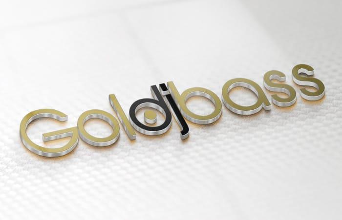 Goldbass 3D Logo