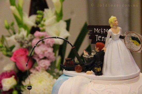 Jasmin and Jayden Wedding Cake