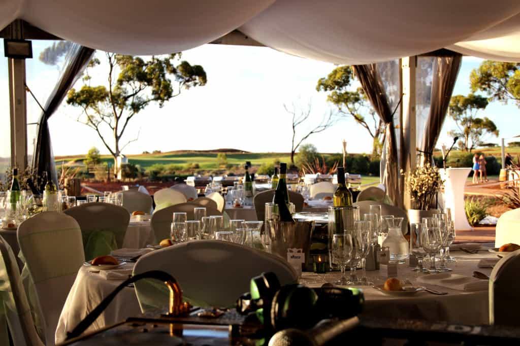 Kalgoorlie Golf Club Wedding