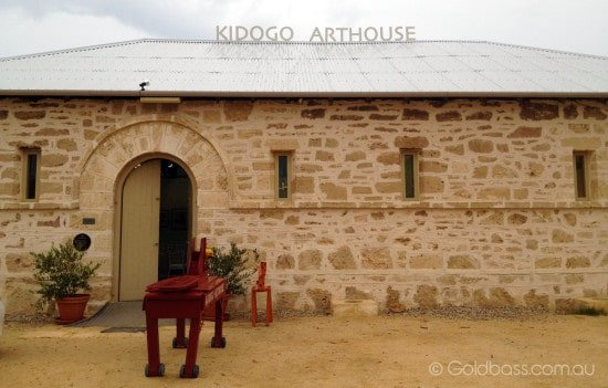 Front of Kidogo Arthouse in Fremantle
