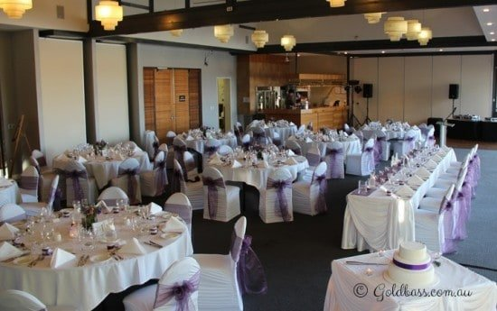 Mandurah Quay Resort Wedding Reception Setup