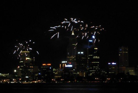Perth City Fireworks