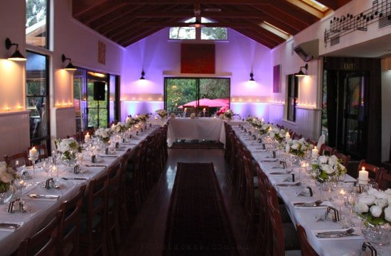 Rivendell Winery Wedding Lighting