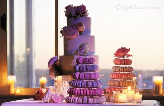 Sami and Pascal wedding cake