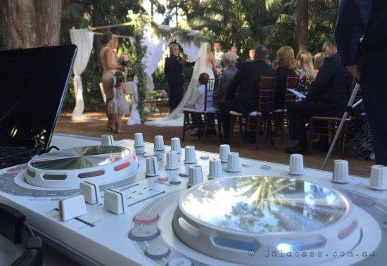 University of Western Australia Wedding Ceremony