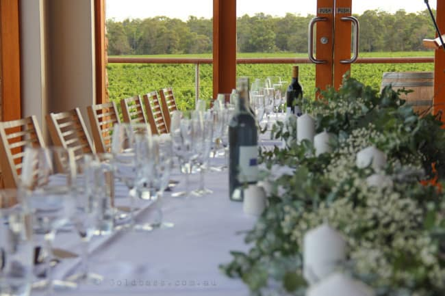 Watershed Wines Wedding Reception